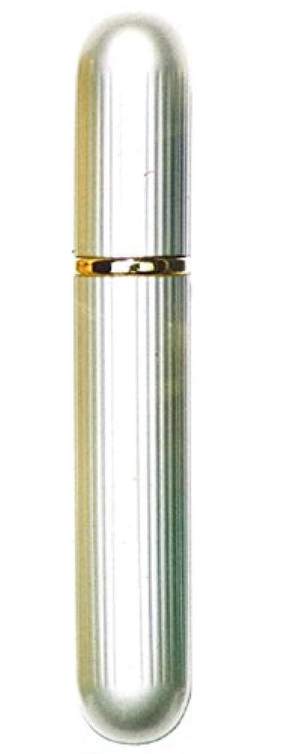 凝縮する見えるパットアトマイザー ロングアルミ 12130 シルバー 4ml