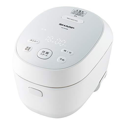 シャープ IHジャー炊飯器 3合 PLAINLYシリーズ 匠の火加減 ホワイト KS-HF05B-W