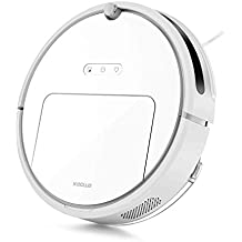 Roborock E20 Robot Vacuum Cleaner 1800Pa Strong Suction for Carpet and All Floor Types, App Control, Route Planning on Hard Floor Cleaning Dust and Pet Hair for Homes with Pets (White) (Renewed)