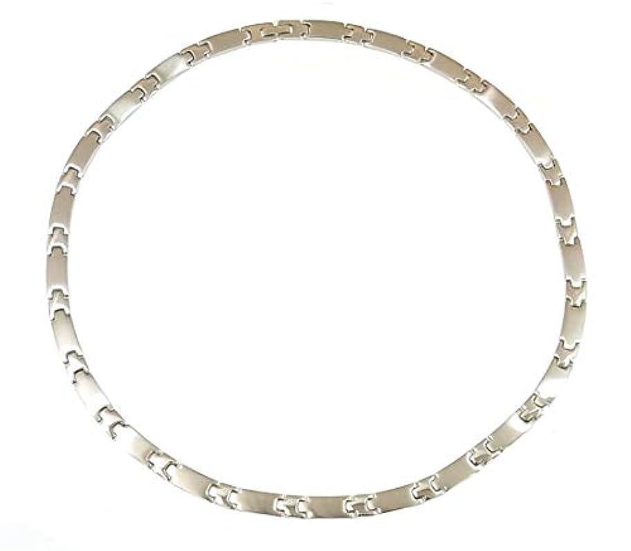 に慣れぎこちない240粒 ゲルマニウムネックレス 健康ネックレス HW-900-3 紳士用  男性用 チタン製