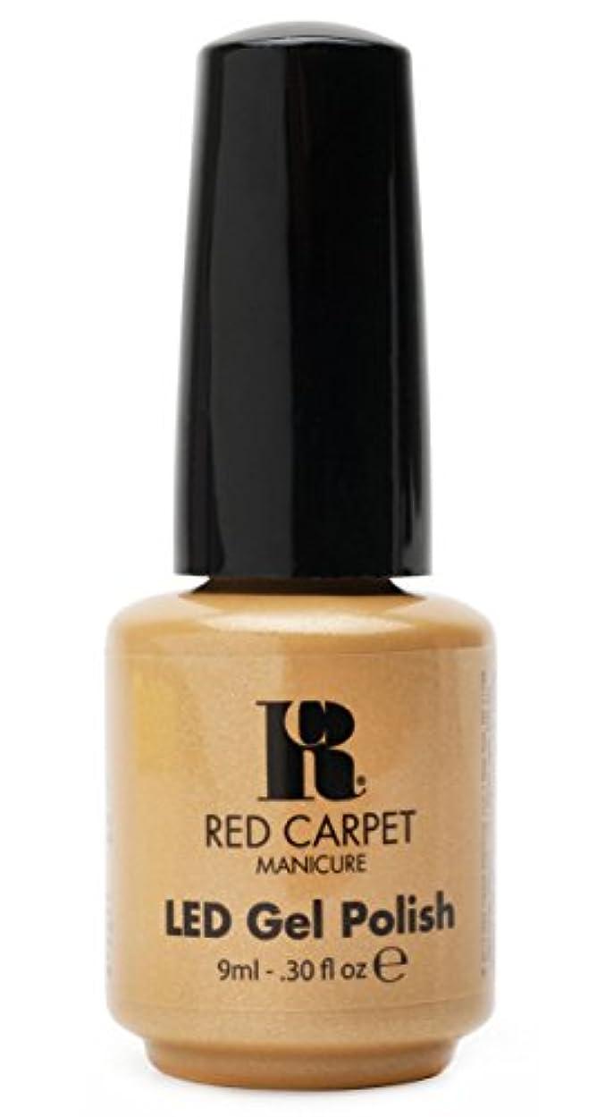 眠いですラジウム能力Red Carpet Manicure - LED Nail Gel Polish - I Am So Honored - 0.3oz/9ml