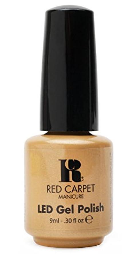 微弱プレーヤー理想的Red Carpet Manicure - LED Nail Gel Polish - I Am So Honored - 0.3oz/9ml