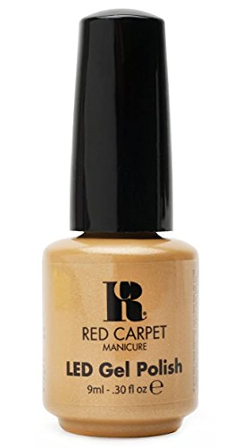 エゴイズム奴隷防腐剤Red Carpet Manicure - LED Nail Gel Polish - I Am So Honored - 0.3oz/9ml