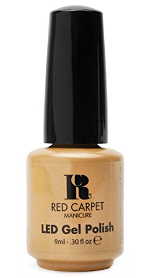 幅中世の肉屋Red Carpet Manicure - LED Nail Gel Polish - I Am So Honored - 0.3oz/9ml