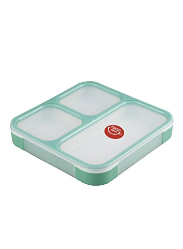 シービージャパン 弁当箱 ミントグリーン 薄型 フードマン 800ml DSK