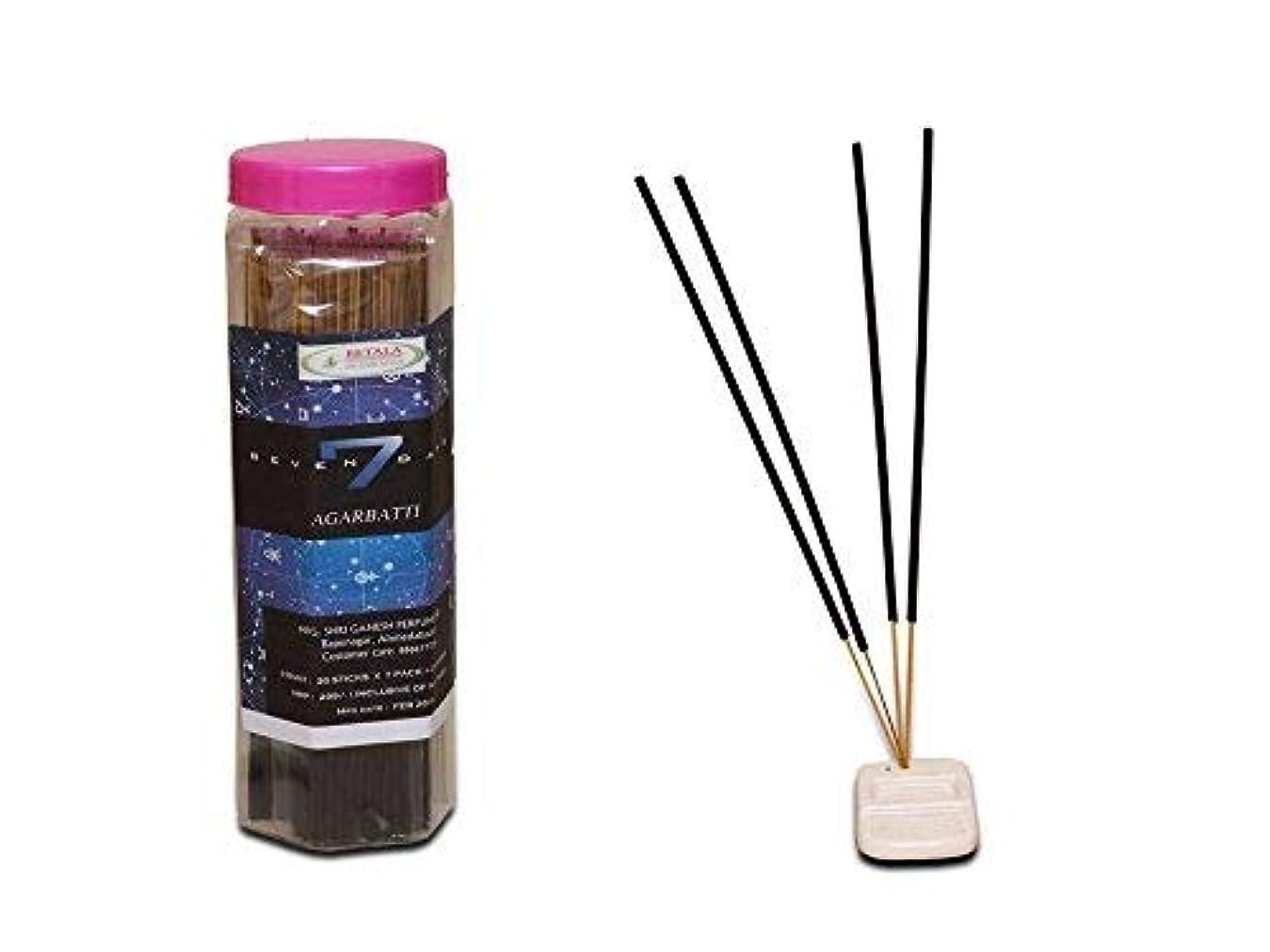 スペイン成果道徳教育BETALA FRAGRANCE SEVAN DAYS incense sticks (30 sticks X 7 flavours) with incense stick holder in box. best incense...