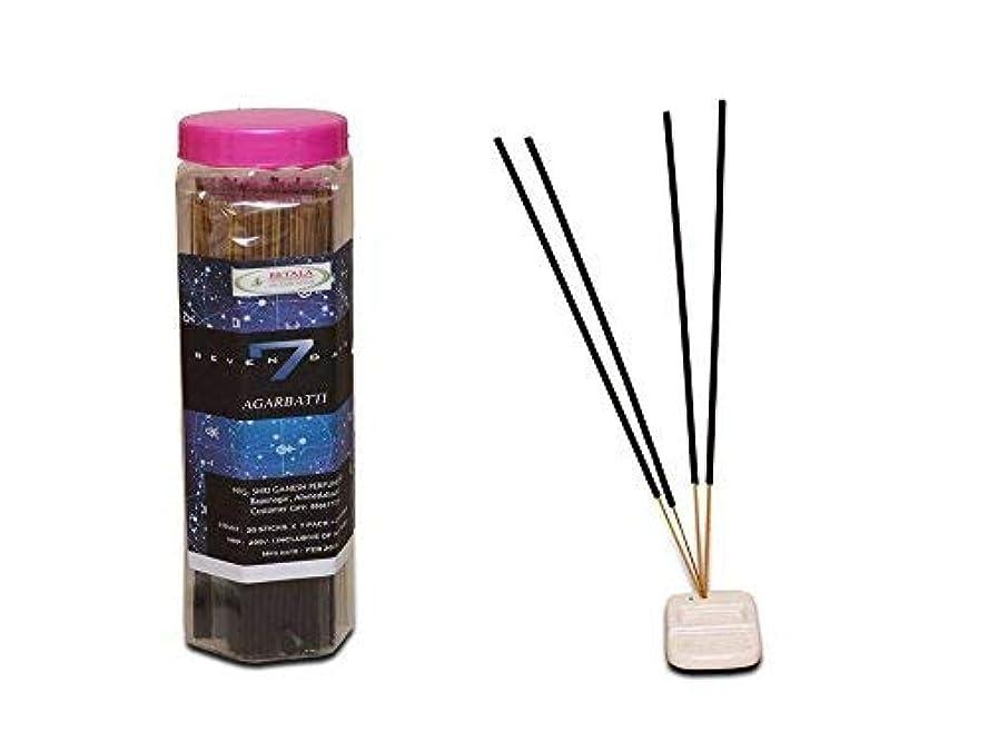 標高判決同情BETALA FRAGRANCE SEVAN DAYS incense sticks (30 sticks X 7 flavours) with incense stick holder in box. best incense stick for pooja,pantry meditation and fragrance