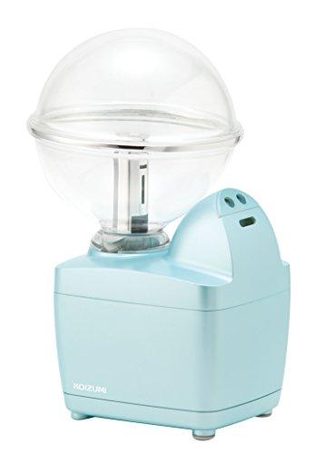 コイズミ 超音波式小型加湿器 LEDイルミネーション付 ライトブルー KHM-1062/A