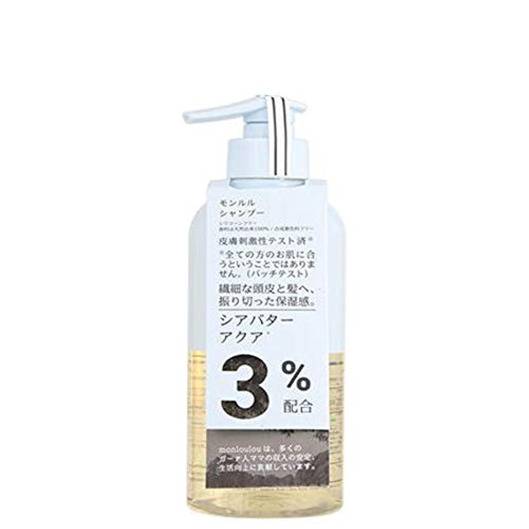 メイド色合い変えるモンルル3%シャンプー 400mL