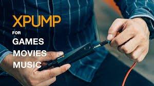 ボタン1つで3Dサウンド!!携帯型サラウンドシステム『XPUMP』日本正規品...