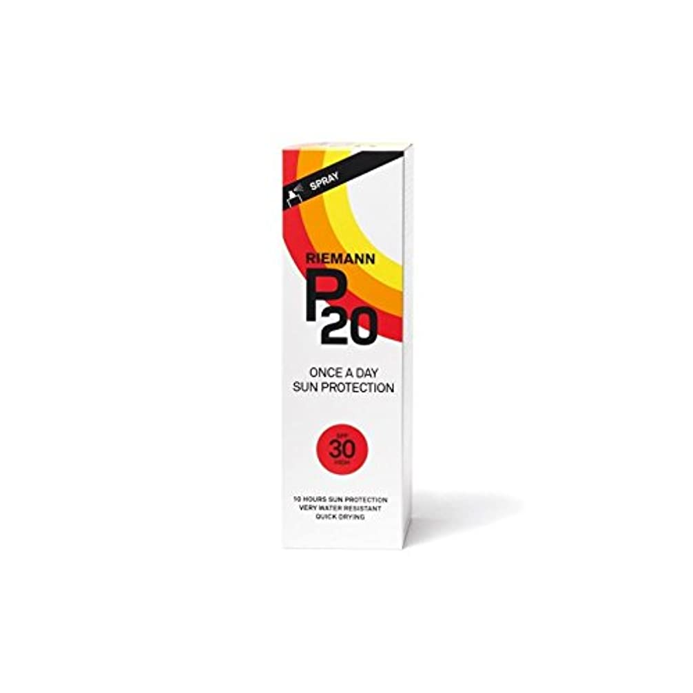 試用貸し手皿Riemann P20 Sun Filter 100ml SPF30 - リーマン20のサンフィルター100ミリリットル30 [並行輸入品]
