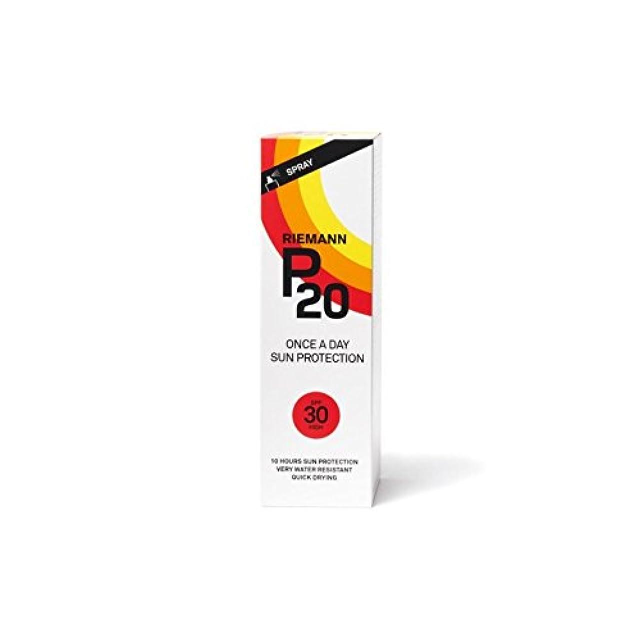 簡潔な国バタフライRiemann P20 Sun Filter 100ml SPF30 (Pack of 6) - リーマン20のサンフィルター100ミリリットル30 x6 [並行輸入品]