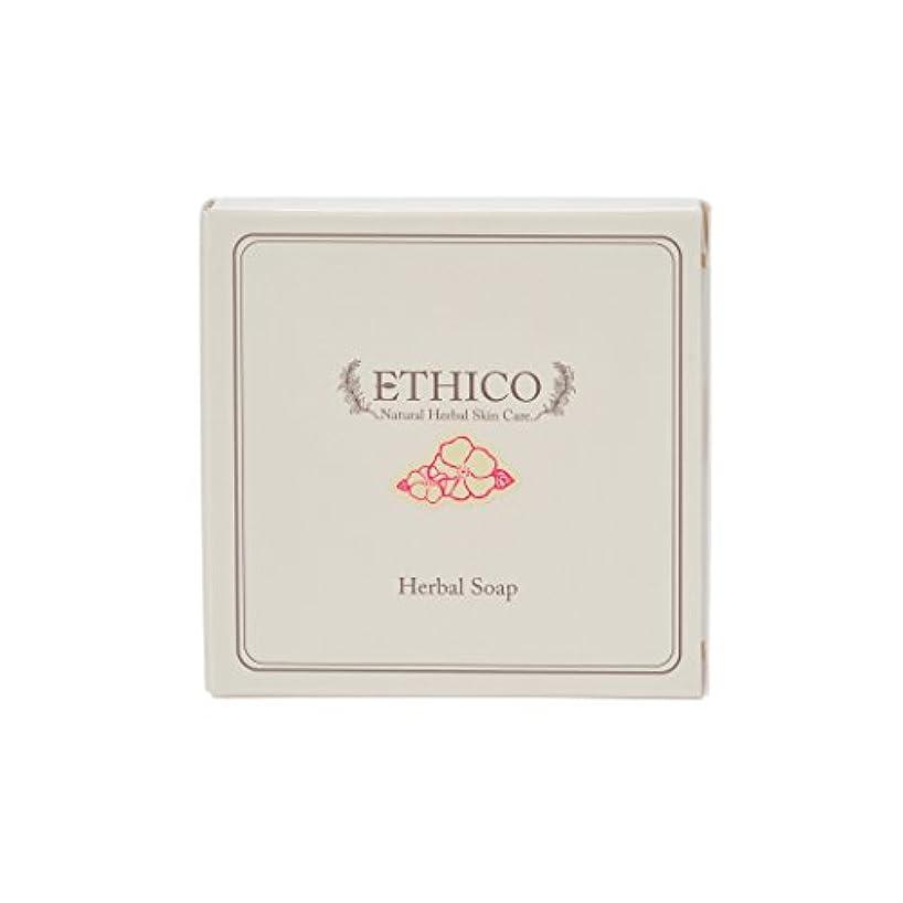 クアッガ排泄する南方のETHICOハーバル洗顔石鹸 ハマナス 90g