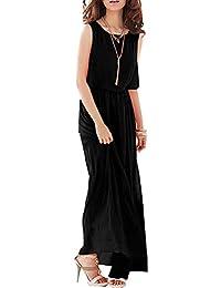 6040ddaf26bd0 Amazon.co.jp  ロング丈 - ワンピース・チュニック   ワンピース・ドレス ...