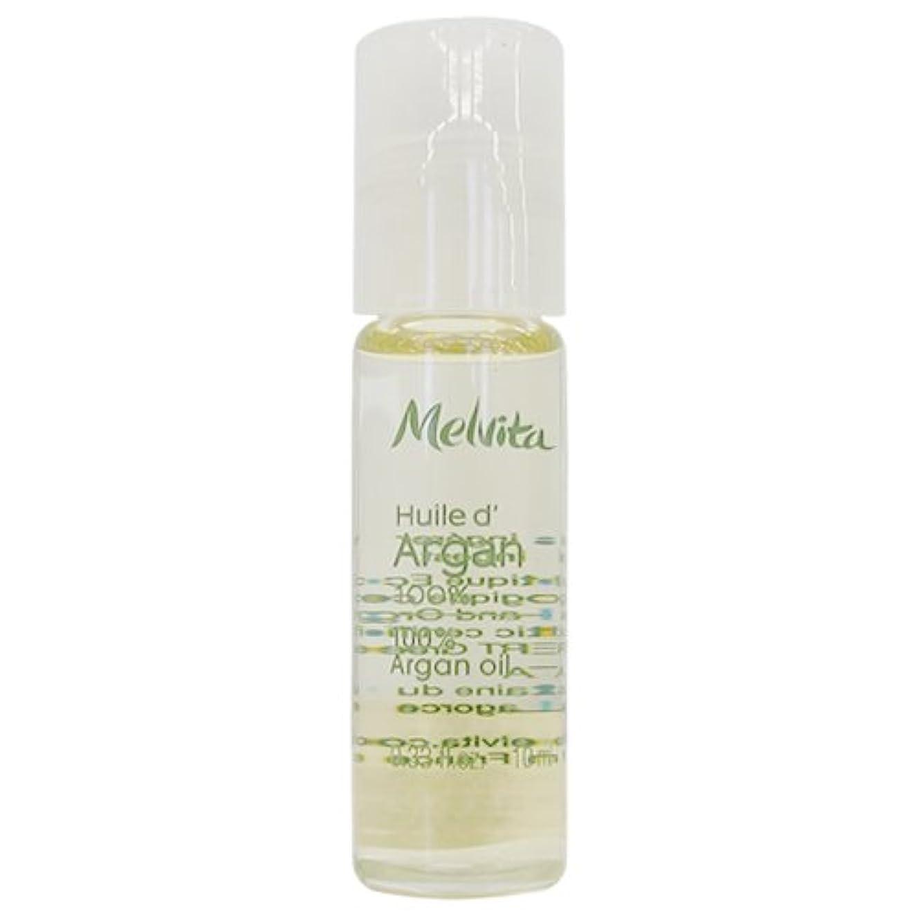 密度菊光沢のあるメルヴィータ MELVITA ビオオイル アルガンオイル ロールオン 10ml [並行輸入品]