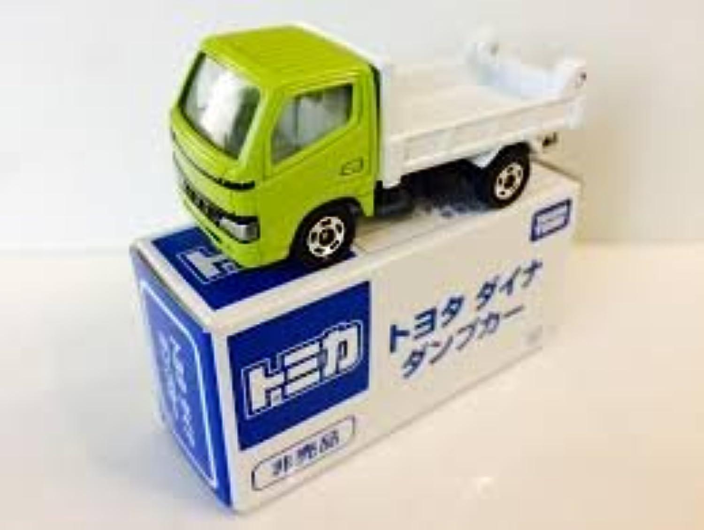トミカ 非売品 トヨタ ダイナ ダンプカー ライムグリーン/ホワイト