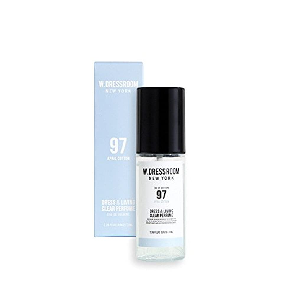 石油あたたかいスラッシュW.DRESSROOM Dress & Living Clear Perfume 70ml (#No.97 April Cotton)/ダブルドレスルーム ドレス&リビング クリア パフューム 70ml (#No.97...