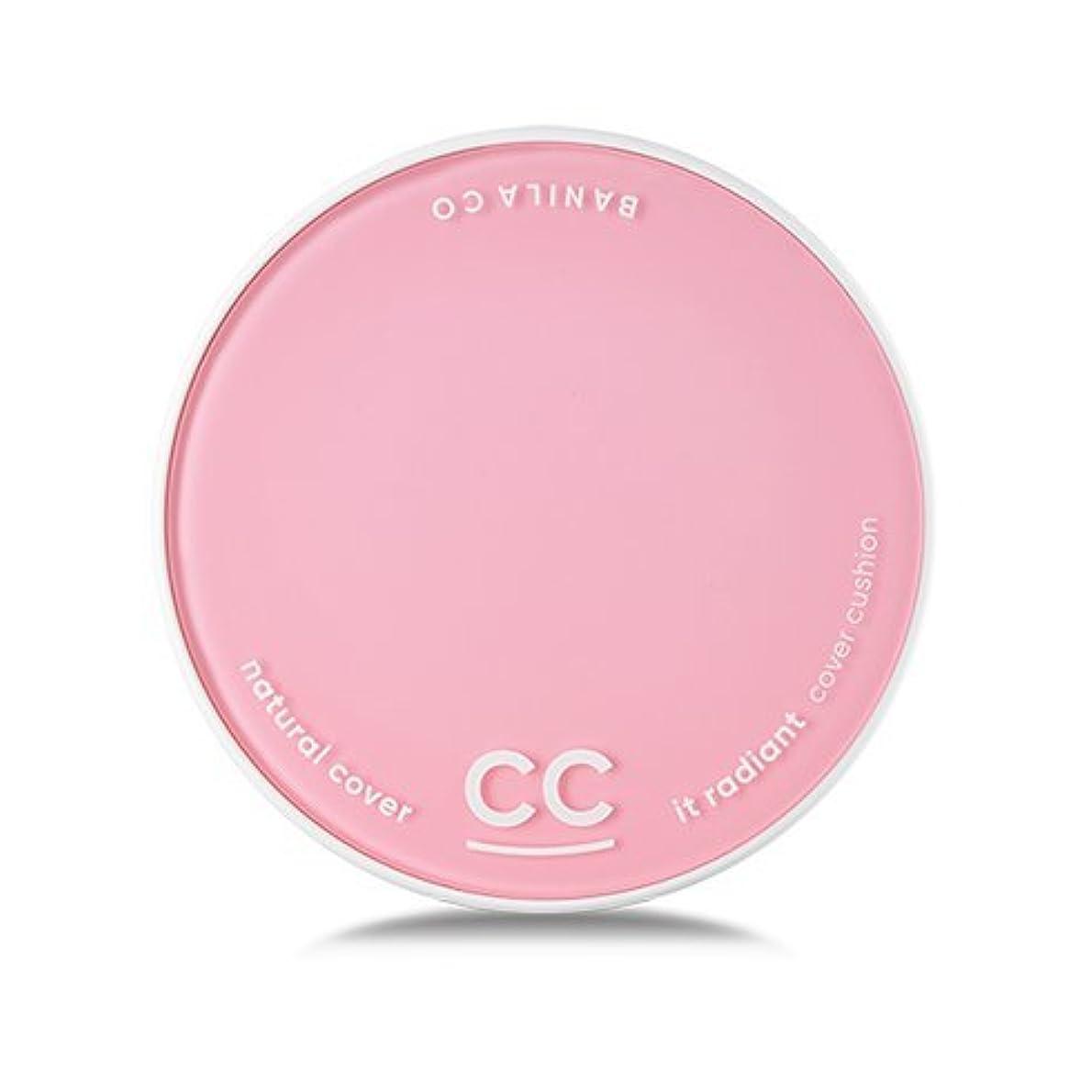 規範カーフ偶然の[Renewal] BANILA CO It Radiant CC Cover Cushion 12g + Refill 12g/バニラコ イット ラディアント CC カバー クッション 12g + リフィル 12g (...