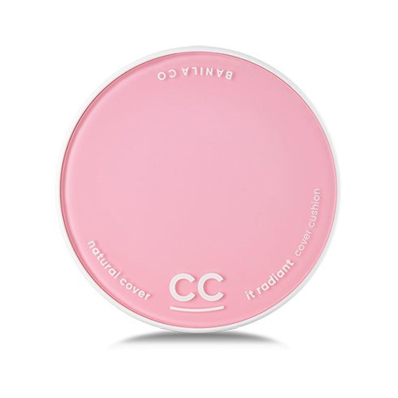 暴行視線うなり声[Renewal] BANILA CO It Radiant CC Cover Cushion 12g + Refill 12g/バニラコ イット ラディアント CC カバー クッション 12g + リフィル 12g (#BP15) [並行輸入品]