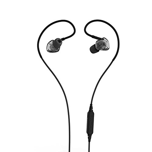 TSECO Bluetoothイヤホン ワイヤレスイアホン カナル型 マグネット ランニング フィットレス スポーツ ジョギング用 ウォーキング イヤホン フラット高音質 IPX-5防水 防滴 防汗 デュアルバッテリー 8時間連続再生 超軽量 マイク付き (ブラック)