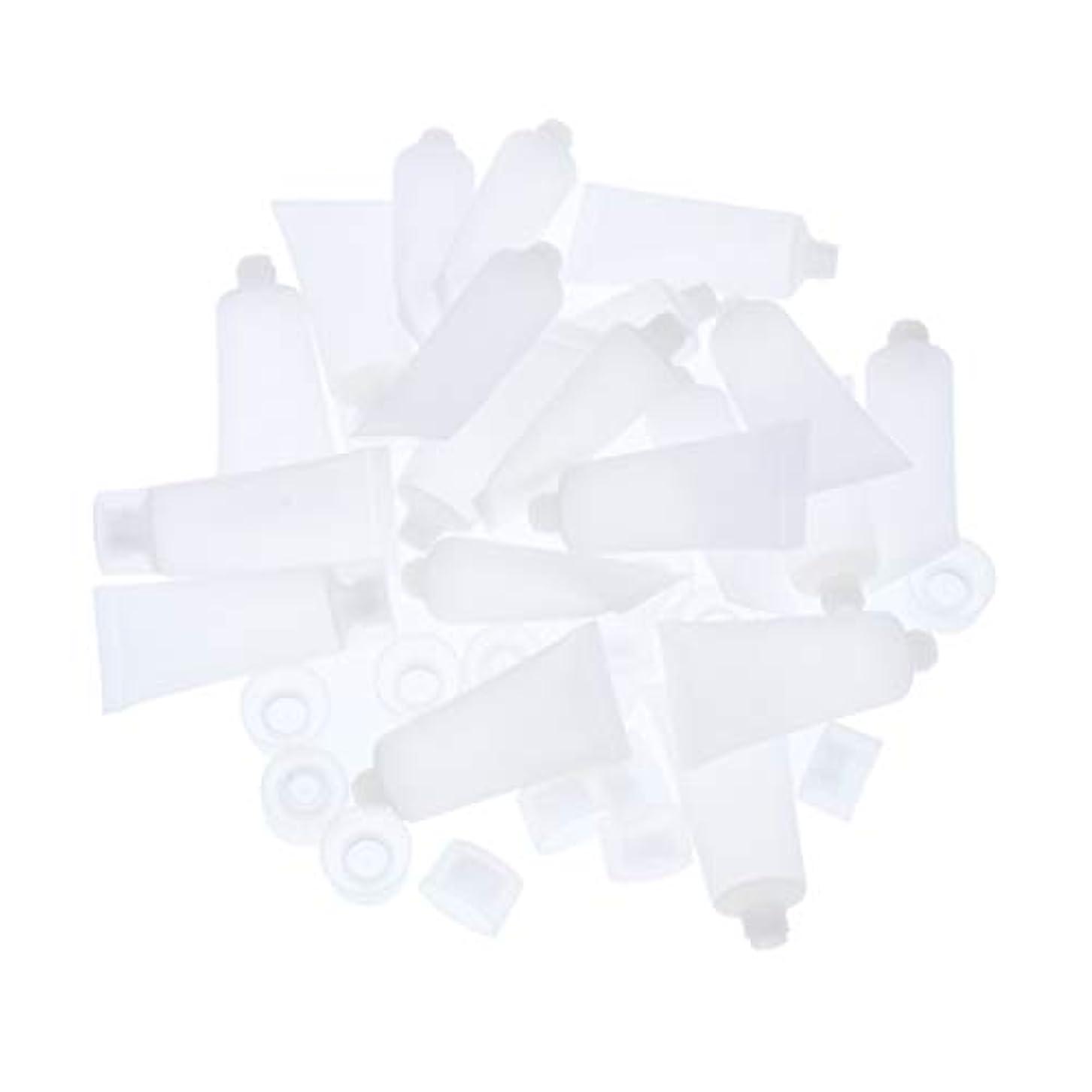 信頼毎年アプライアンスTachiuwa プラスチック 小分けボルト 化粧品ボルト クリームボルト 詰替え容器 旅行用品 約20個 全4サイズ - 20ml