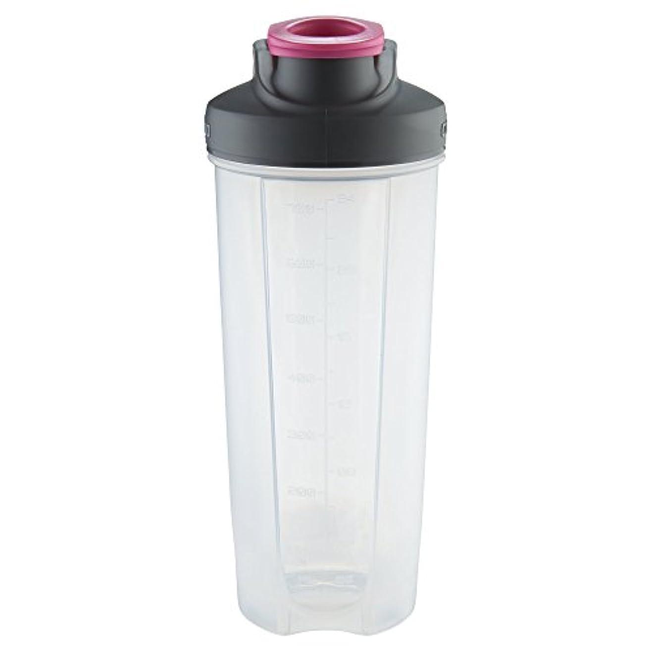 薄いですただ弱点Contigo 70293 Shake & Go Fit Mixer Bottle, 28 oz, Neon Pink by Contigo