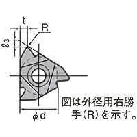 タンガロイ 外径用ねじ切りインサート 16ERA55:TH10 (5個入り)