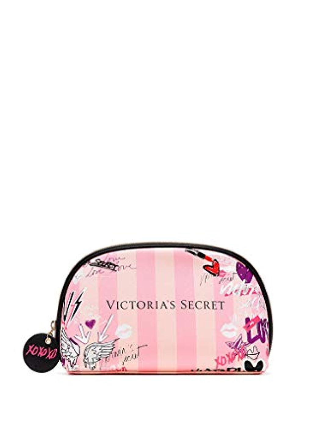 服プロフェッショナル弾薬【 メイクアップバッグ 】 VICTORIA'S SECRET ヴィクトリアシークレット/ビクトリアシークレット グラフィティグラムバッグ/Graffiti Glam Bag [並行輸入品]
