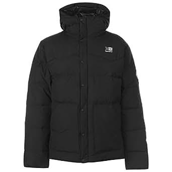 カリマー メンズ ダウンジャケット 耐久性 軽量 保温効果 Karrimor Mens Mens Eday Down Parka Jacket Black L