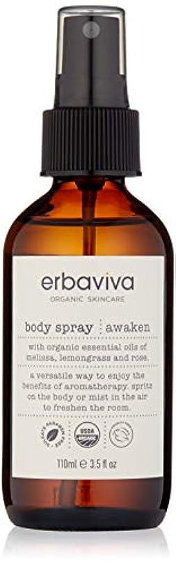 作成する表向き知覚できるエルバビーバ(erbaviva) エルバビーバ AW ボディスプレー [awaken] 110mL