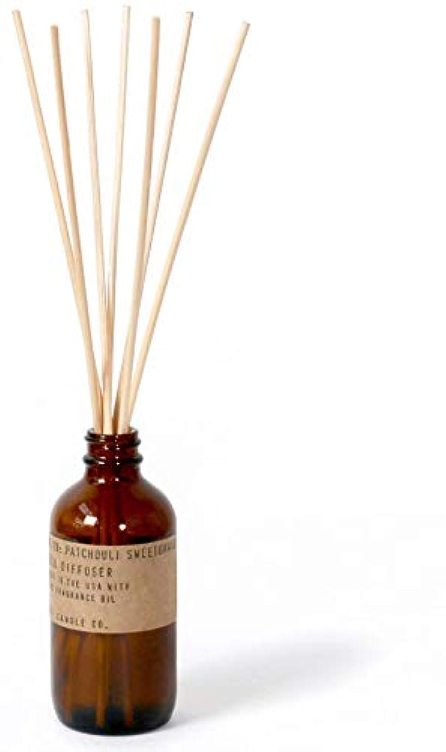 行う到着する財団p.f. Candle Co。 – No。19 : Patchouli Sweetgrass Diffuser