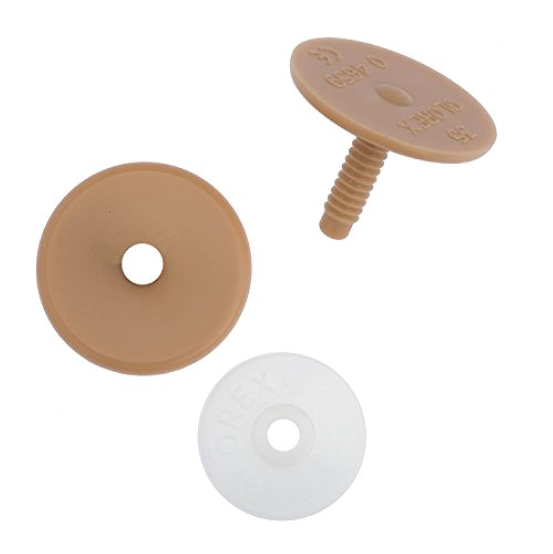 Glorex GmbH 0 4659ジョイントDiscsプラスチック直径35 mm 5個パック