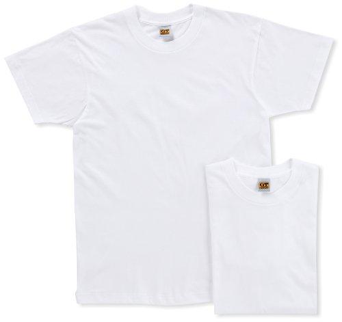 (グンゼ)GUNZE インナーシャツ G.T.HAWKINS 綿100% Tシャツ 2枚組 HK10132 03 ホワイト L