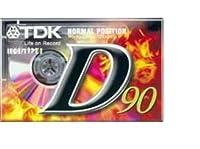 TDK D90オーディオテープ - パック20