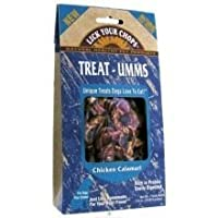 Lick Your Chops Treat-Umms Chicken Calamari 2.5-Ounce - by Lick Your Chops