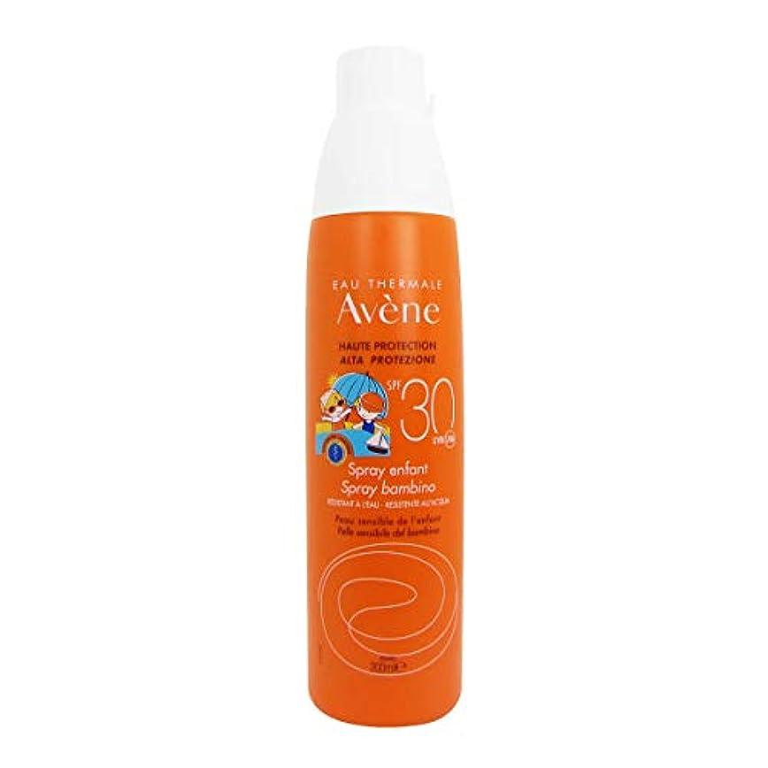 防止クラス華氏Avene Sunscreen Spray 30 Kids 200ml
