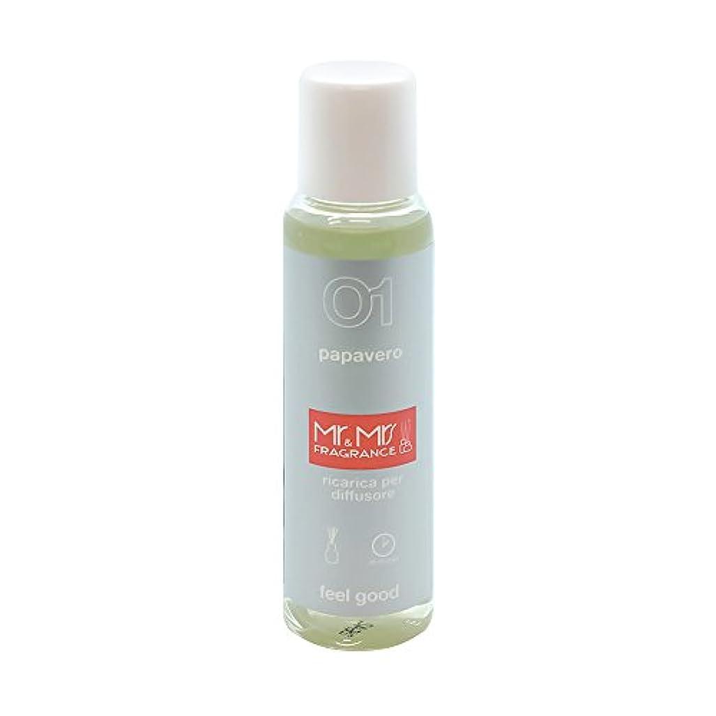 想起ステレオタイプ幾何学Mr&Mrs(ミスターアンドミセス)easy fragrance 01 ポピー リフィル 100ml
