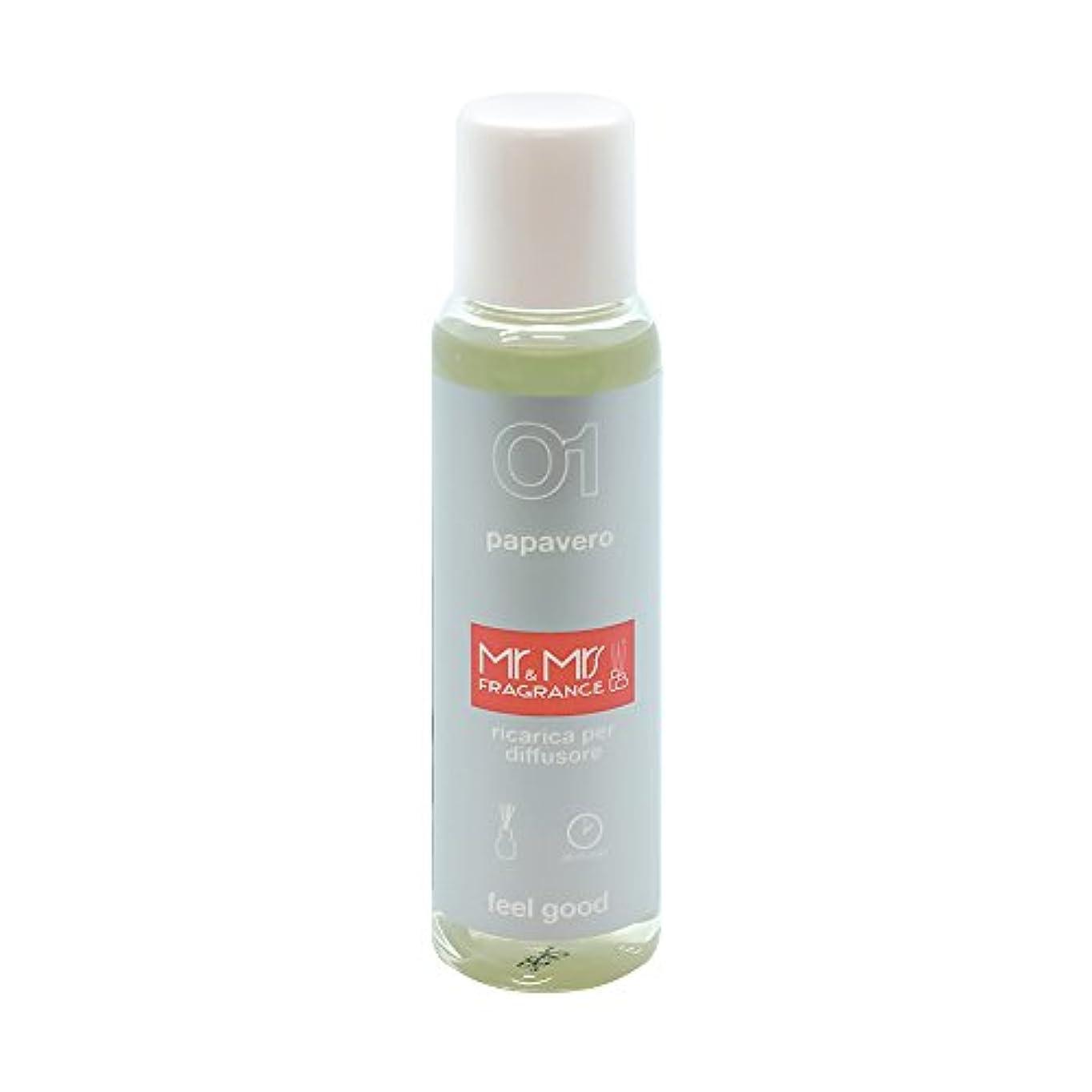 繁雑テンポホースMr&Mrs(ミスターアンドミセス)easy fragrance 01 ポピー リフィル 100ml