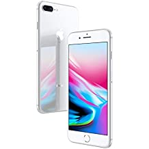 Apple iPhone 8 Plus Silver 256GB SIM-Free Smartphone (Renewed)
