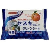 【友和】セスキ炭酸ソーダ クリーンシート キッチン用 22枚 ×10個セット