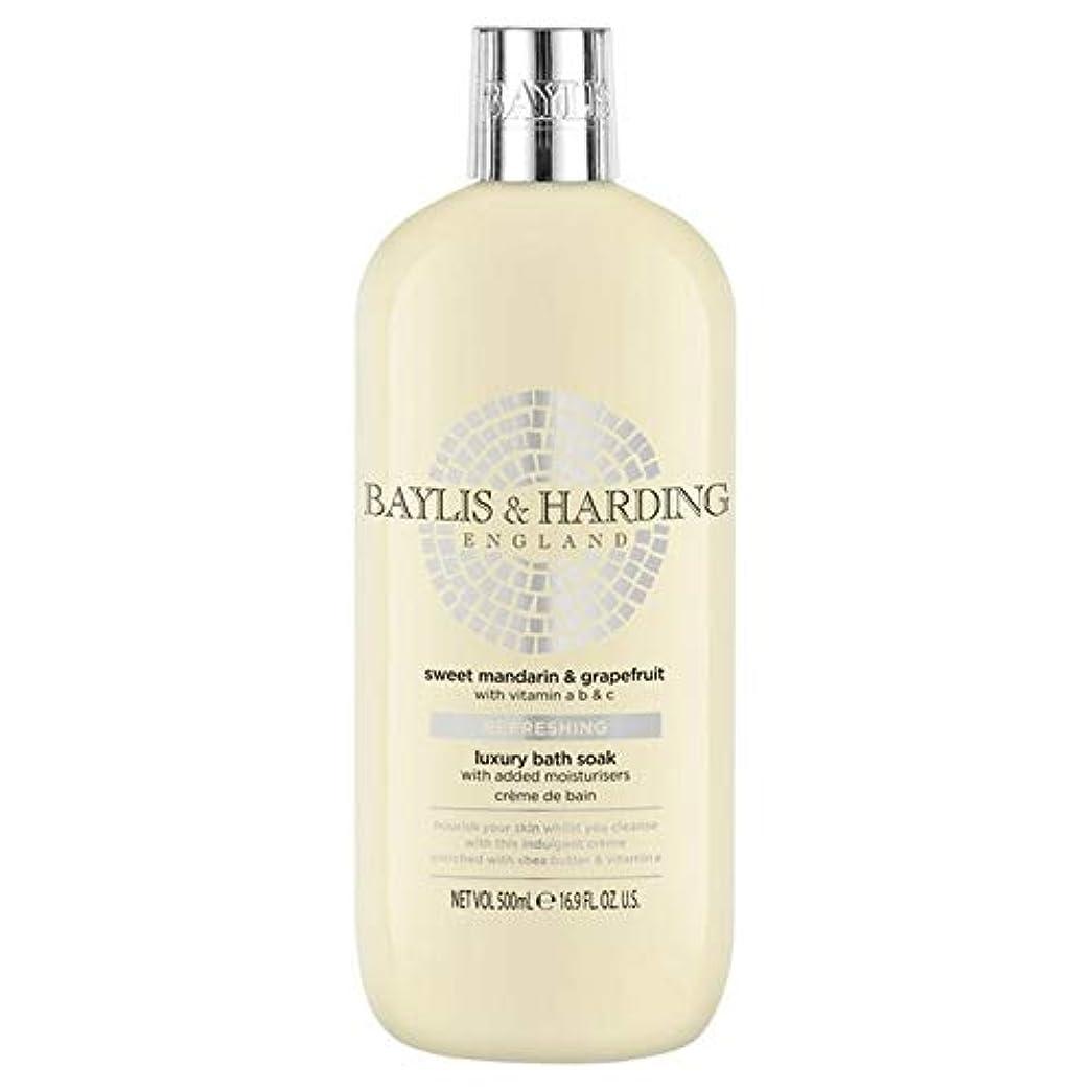 気をつけても極地[Baylis & Harding ] ベイリス&ハーディング甘いマンダリン&グレープフルーツ保湿入浴500ミリリットルつかります - Baylis & Harding Sweet Mandarin & Grapefruit...