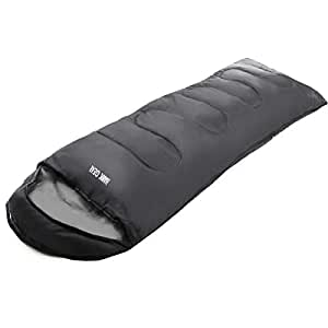 [HAWK GEAR(ホークギア)] 寝袋 封筒型 丸洗いできる シュラフ 軽量 0度 耐寒 超断熱仕様 (グレー)