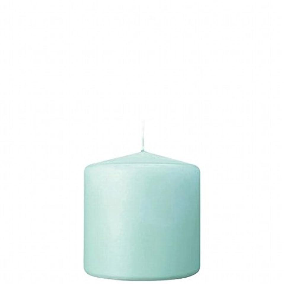 フットボール添付講堂kameyama candle(カメヤマキャンドル) 3×3ベルトップピラーキャンドル 「 ライトブルー 」(A9730000LB)