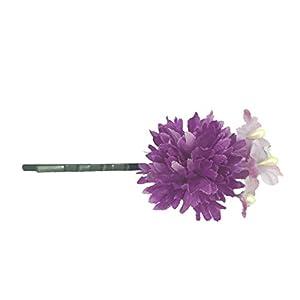[粋花] Suika フラワーピン 4063 パープル