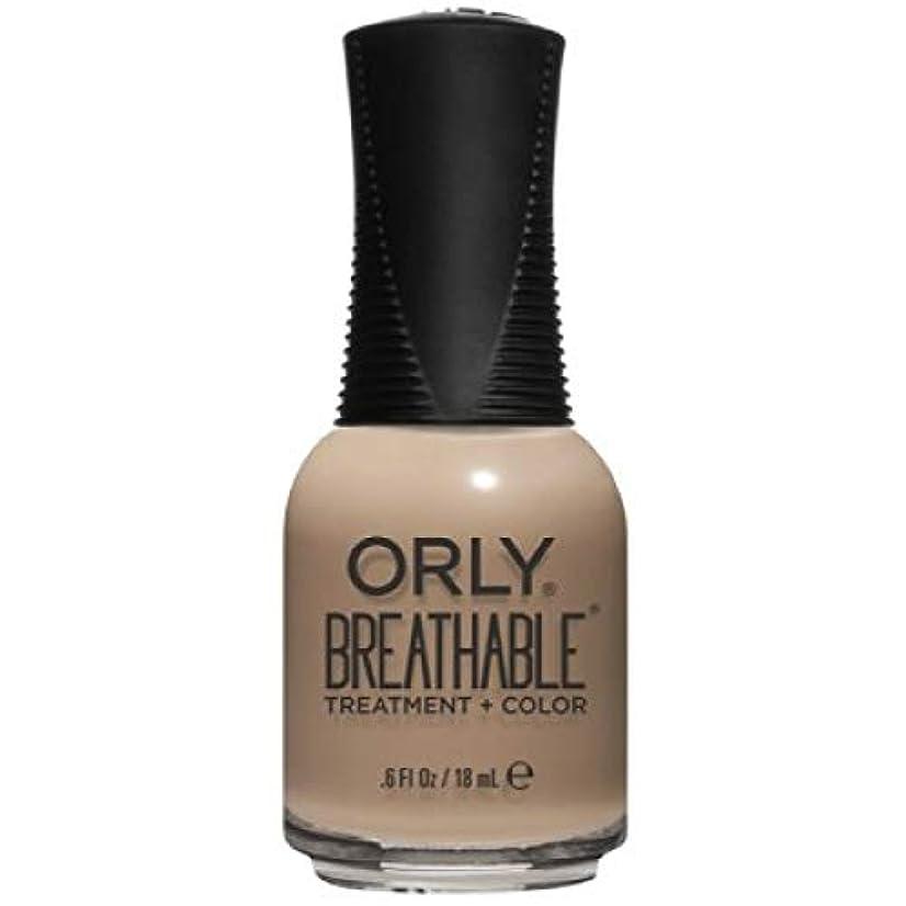 うるさいベッツィトロットウッド情報Orly Breathable Nail Lacquer - Treatment + Color - Bare Necessity - 0.6 oz / 18 mL