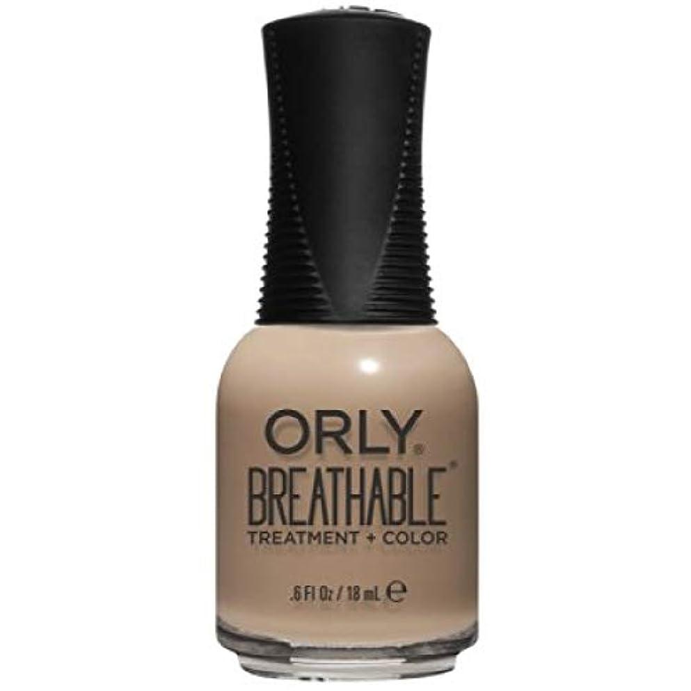 枝人気散らすOrly Breathable Nail Lacquer - Treatment + Color - Bare Necessity - 0.6 oz / 18 mL
