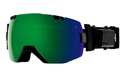 18-19 SMITH (スミス) ゴーグル I/OX TURBO FAN BLACK アイ/オーエックス プロフェシー ターボファン アジアンフィット ジャパンフィット スノーボード スキー