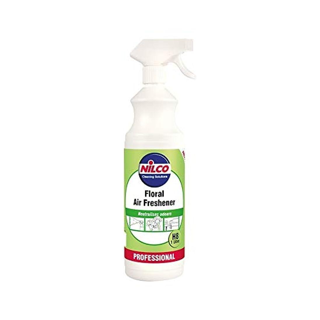 公園哀れな脇に[Nilco] Nilcoプロの花のエアフレッシュナーH8の1リットル - Nilco Professional Floral Air Freshener H8 1L [並行輸入品]