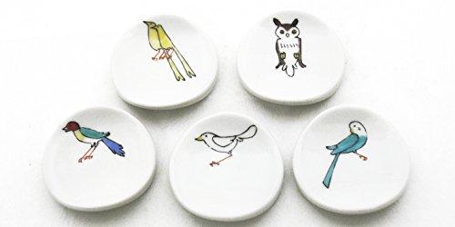クタニシール 小鳥の箸置 A