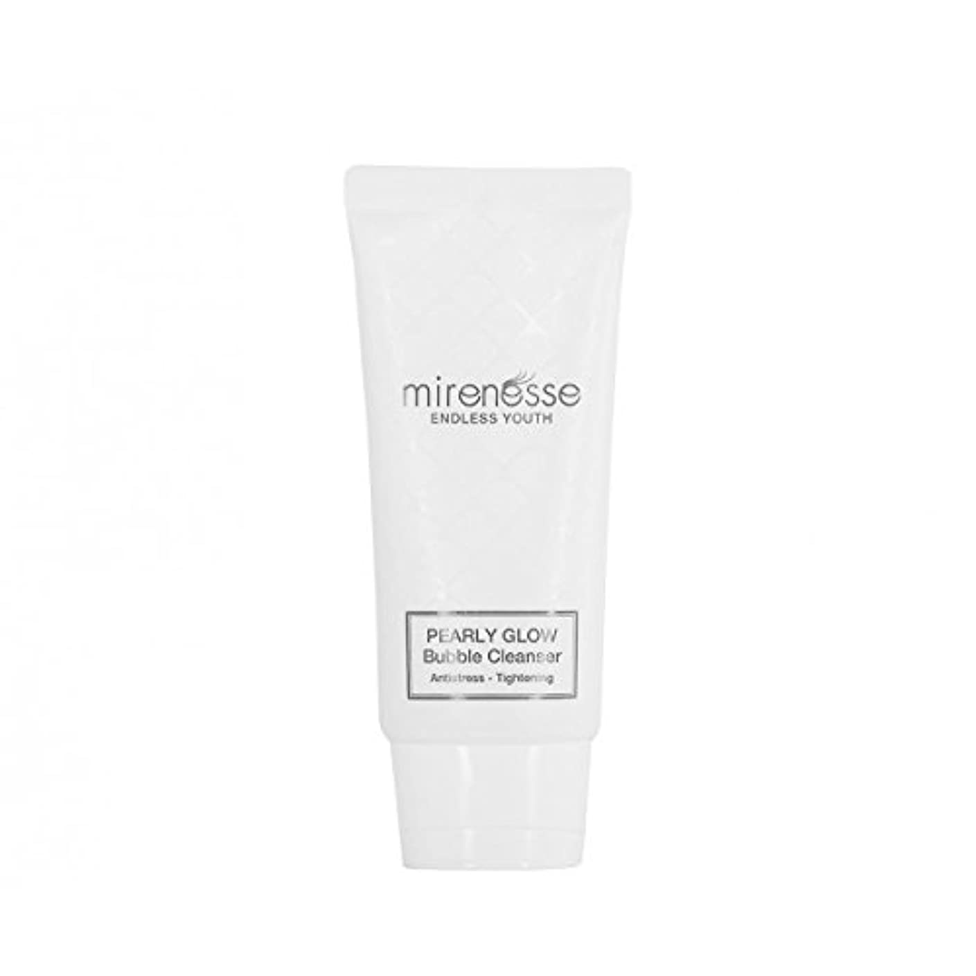 引き潮追放する同化Mirenesse Cosmetics Endless Youth Pearly Bubble & Glow PH Cleanser